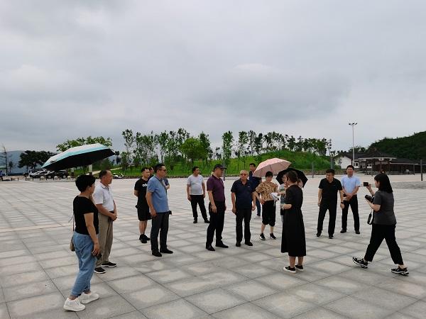 考察团在南阳恐龙蛋化石群国家级自然保护区淅川辖区考察.jpg